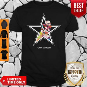 Tony Dorsett 33 Dallas Cowboys Football Art Shirt