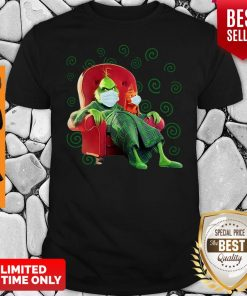 The Grinch Sitting In A Chair Covid 19 Shirt