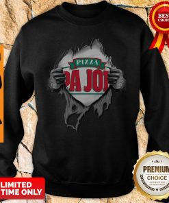 Blood Inside Me Pizza Pa Johns Covid-19 2020 I Can't Stay At Home Sweatshirt