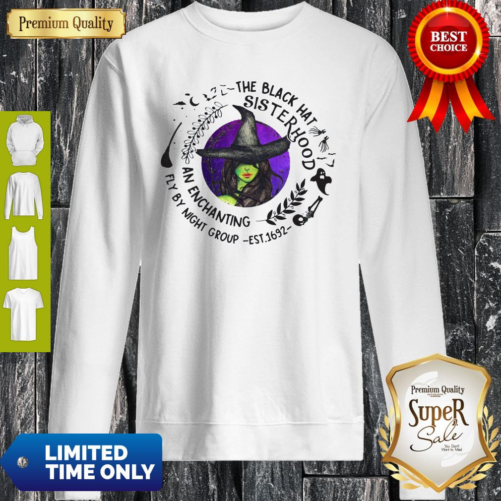 The Black Hat Sisterhood An Enchanting Fly By Night Group Sweatshirt