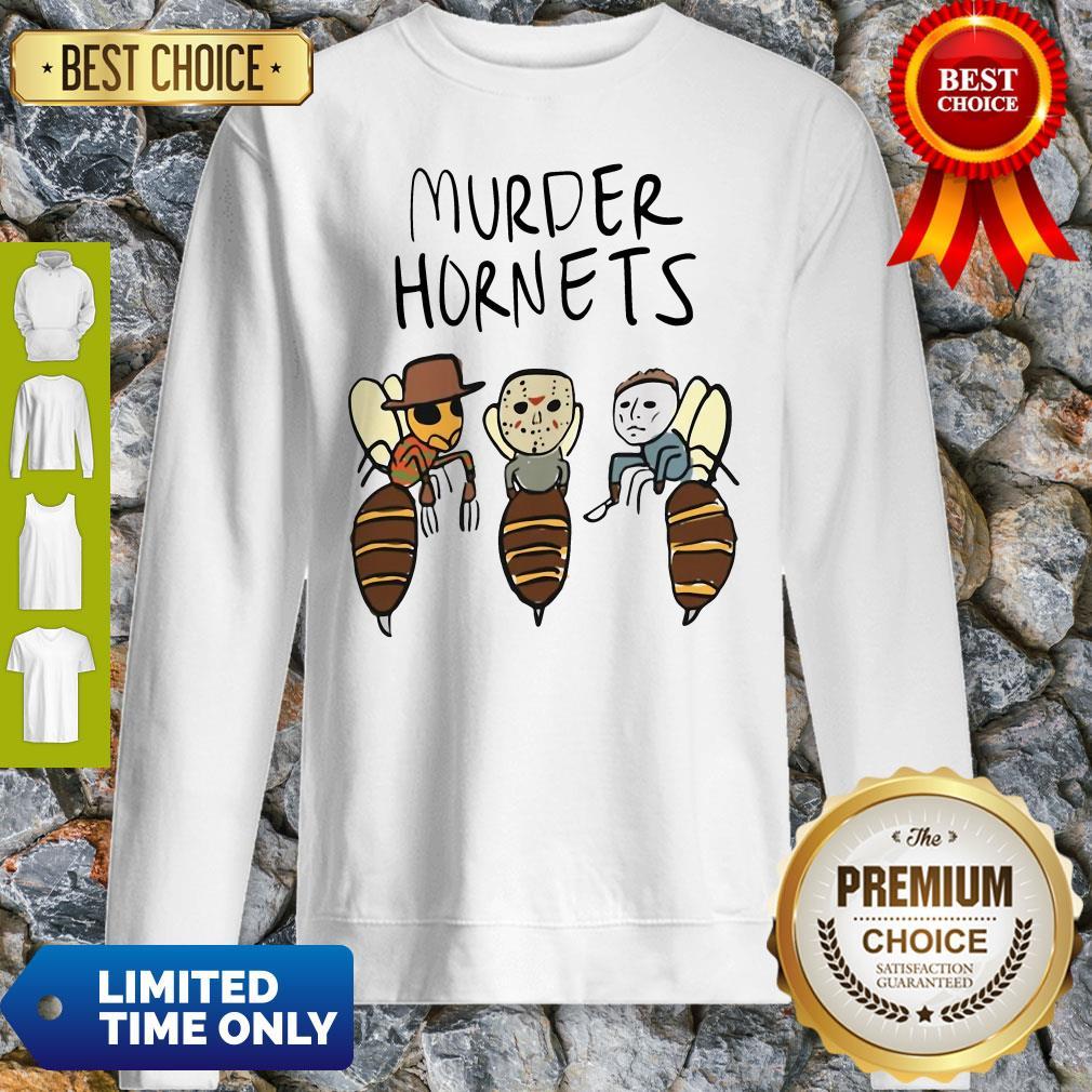 Official Murder Hornets Bees Freddy Jason Myers Sweatshirt