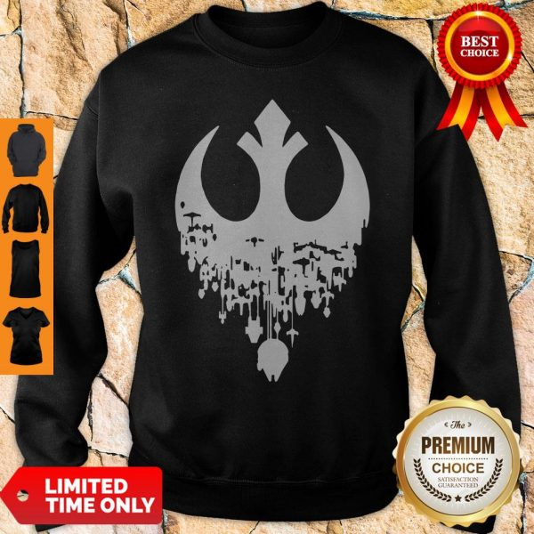 Star Wars Hombres Fractured Rebellion Sweatshirt