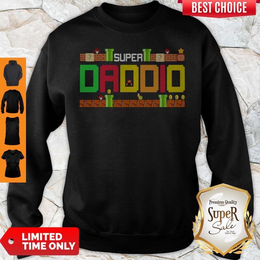 Official Mario Family Super Dadio Sweatshirt