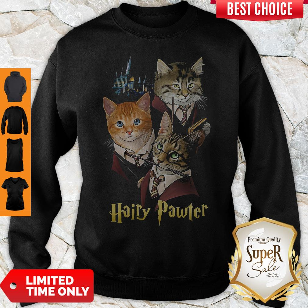 Official Cats Hairy Pawter Sweatshirt