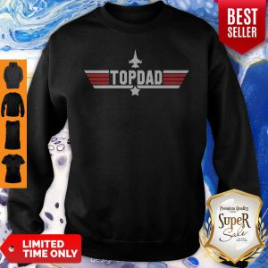 Top Dad Personalized Father's Day Sweatshirt
