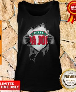 Blood Inside Me Pizza Pa Johns Covid-19 2020 I Can't Stay At Home Tank Top