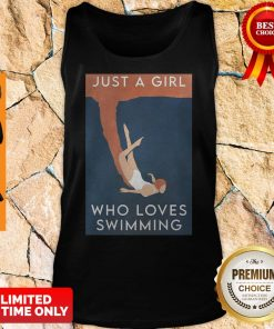 Official Just A Girl Who Loves Swimming Tank Top