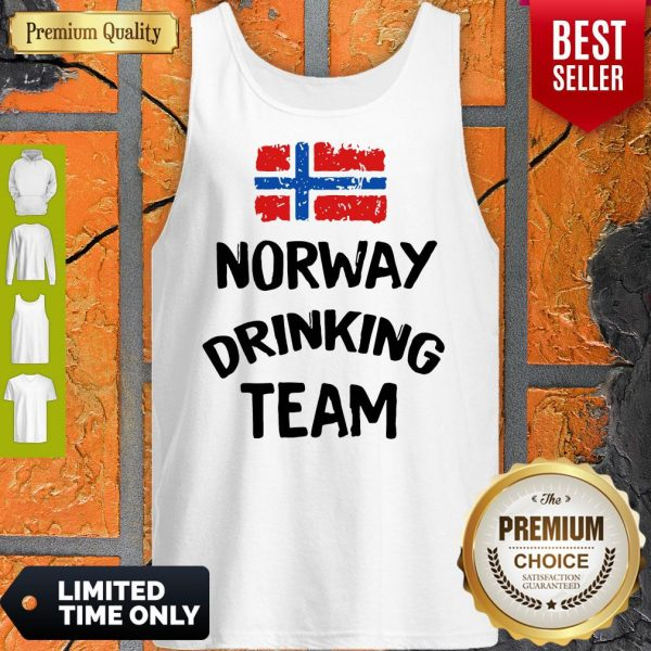 Official Norway Drinking Team Tank Top