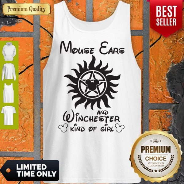 Disney Mouse Ears And Winchester Kind Of Girl Tank Top