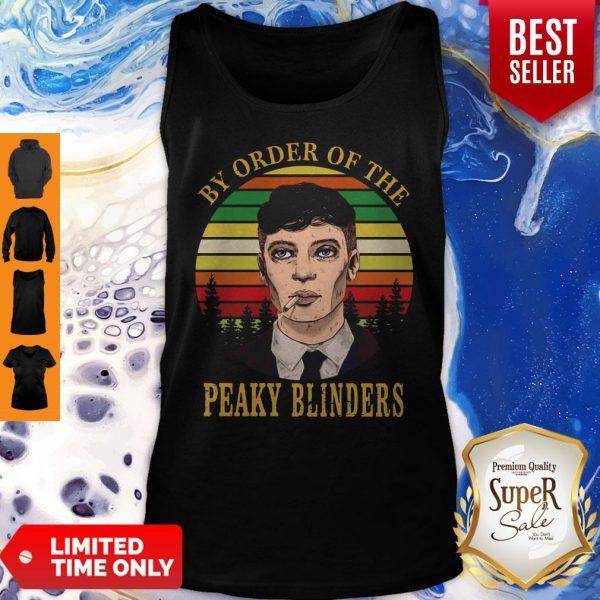 Cillian Murphy By Order Of The Peaky Blinders Vintage Womens Tank Top