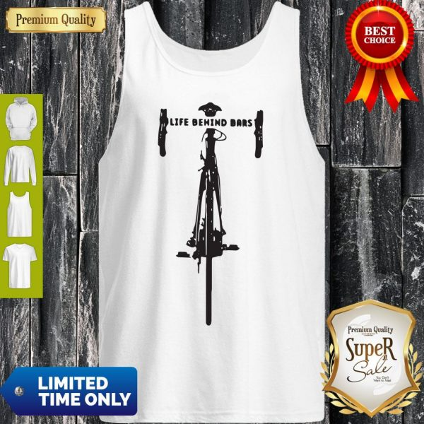 Official Bicycle Life Behind Bars Tank Top