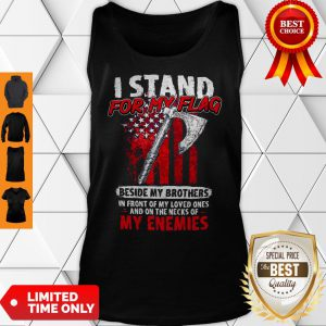 Official I Stand For My Flag Tank Top
