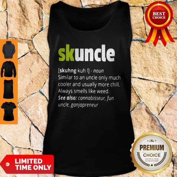 Official Skuncle Tank Top