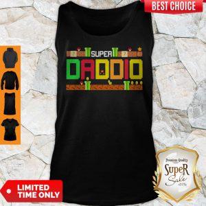 Official Mario Family Super Dadio Tank Top