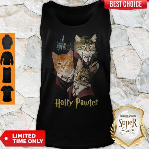 Official Cats Hairy Pawter Tank Top