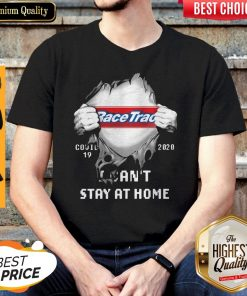 Top Blood Insides Racetrac Covid-19 2020 I Can't Stay At Home Shirt