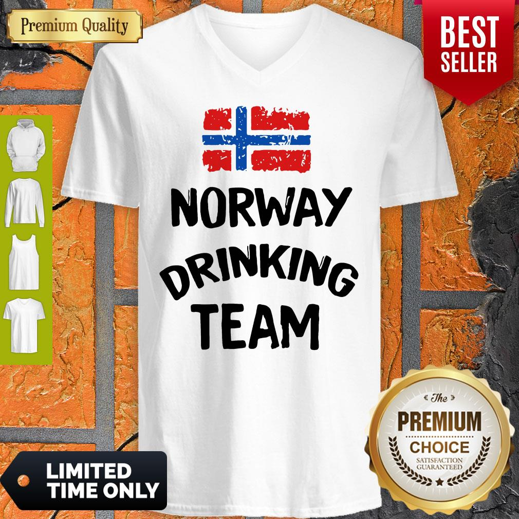 Official Norway Drinking Team V-neck