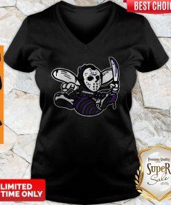 Official Murder Hornets Bee V-neck