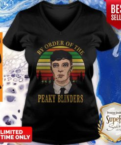 Cillian Murphy By Order Of The Peaky Blinders Vintage Womens V-neck