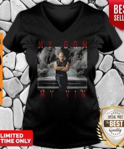 Dominic Toretto You Are My Dom My Vin Car Signature V-neck