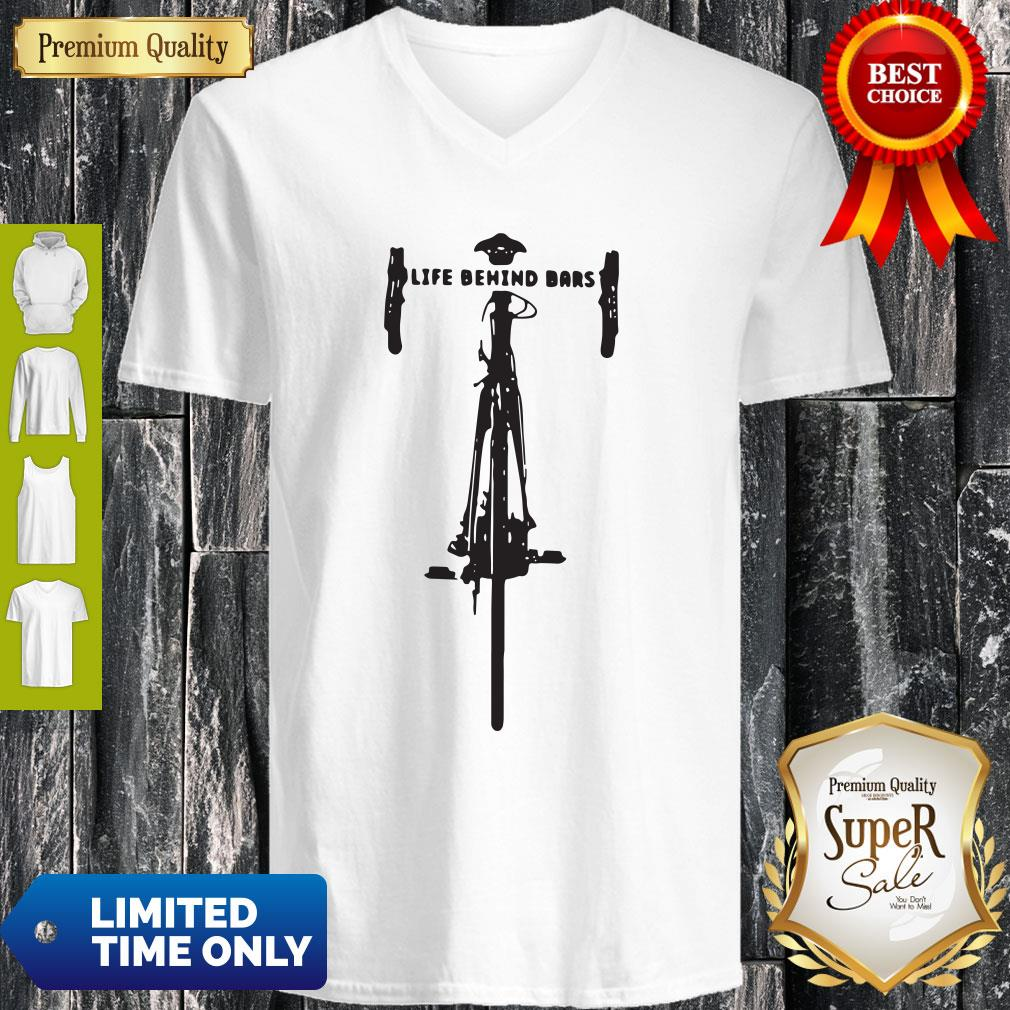 Official Bicycle Life Behind Bars V-neck