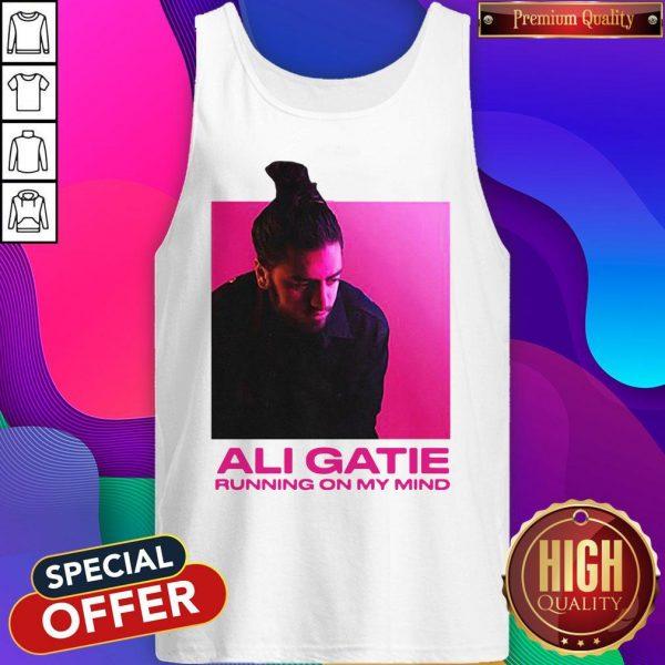 Ali Gatie Running On My Mind Tank Top