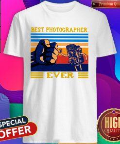 Best Dad Best Photographer Ever Shirt