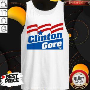 Clinton Gore 92 Elections Political Maglietta Tank Top