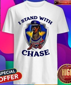 Dachshund I Stand With Chase Police Shirt
