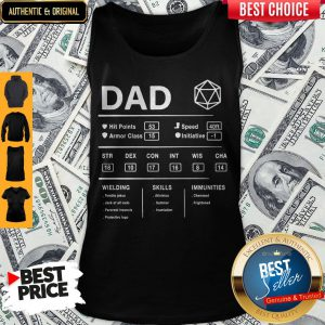 Dad Hit Points Speed Armor Class Initiative Wielding Tank Top