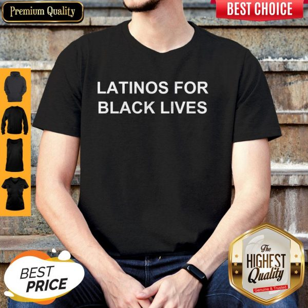 George Floyd Latinos For Black Lives Shirt