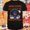 Graduation Boise State Educated Queen Proud Of My Roots Shirt