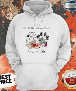 I'm A Dog And The Rolling Stones Kind Of Girl Hoodie