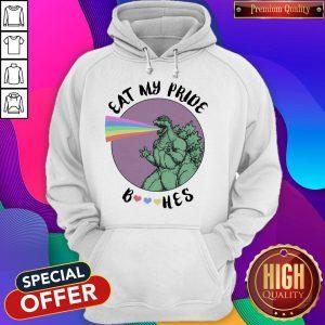 LGBT Eat My Pride GodZilla Hoodie