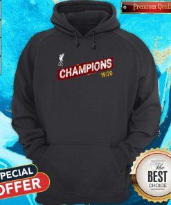 Liverpool FC Premier League Champions 19-20 Hoodie
