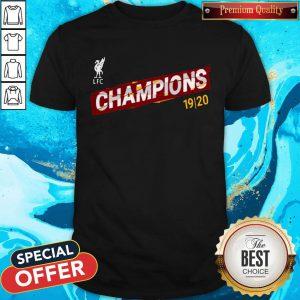 Liverpool FC Premier League Champions 19-20 Shirt