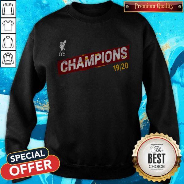Liverpool FC Premier League Champions 19-20 Sweatshirt