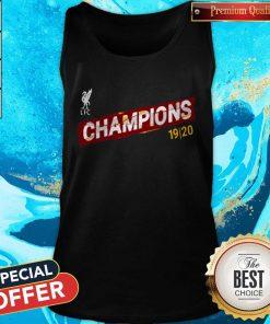 Liverpool FC Premier League Champions 19-20 Tank Top