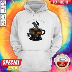 Not Everyone's Cup Of Tea Skull Hoodie