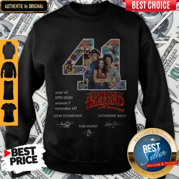 Official 41 Years Of The Dukes Of Hazzard Sweatshirt