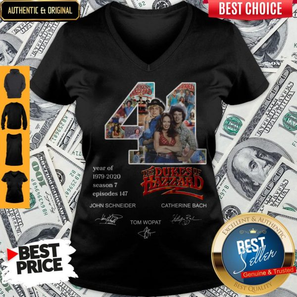 Official 41 Years Of The Dukes Of Hazzard V-neck