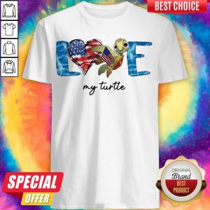 Official American Love My Turtle Shirt