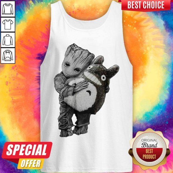 Official Baby Groot Hug Ghibli Tank Top