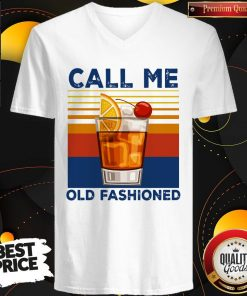 Official Call Me Old Fashioned V-neck