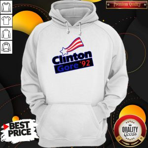 Official Clinton Gore 92 Hoodie