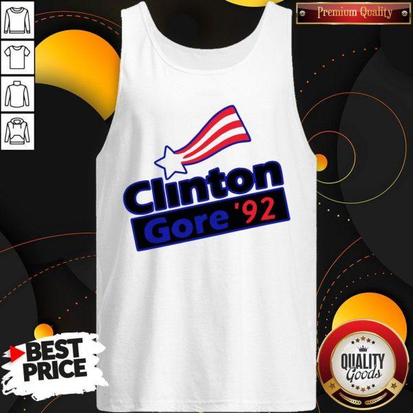 Official Clinton Gore 92 Tank Top