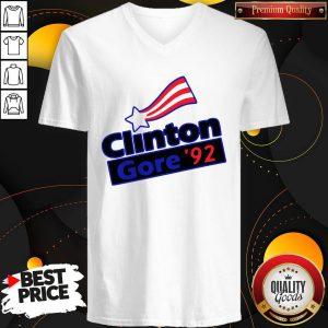 Official Clinton Gore 92 V-neck