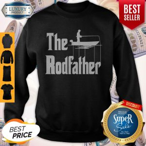 Official Fishing The RodFather The GodFather Sweatshirt