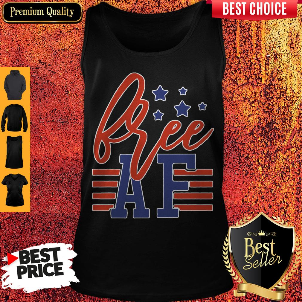 Official Free Af 4th Of July Tank Top