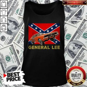 Official General Lee Dixieland Flag Tank Top
